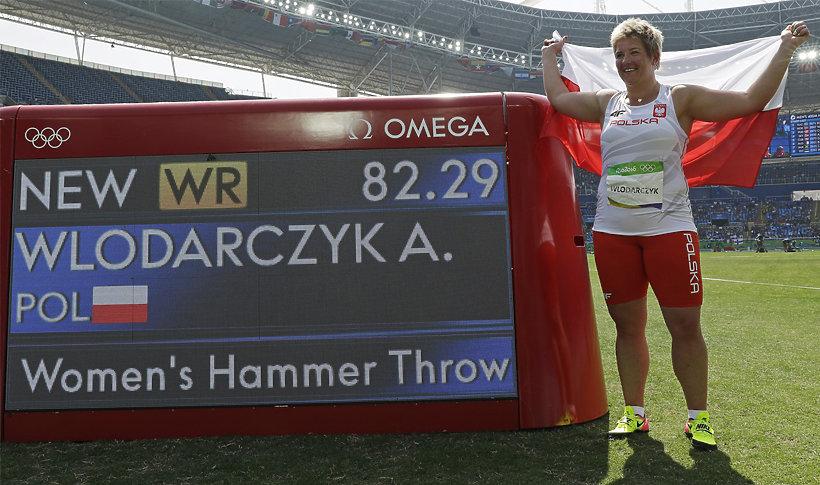 Anita Włodarczyk z rekordem świata