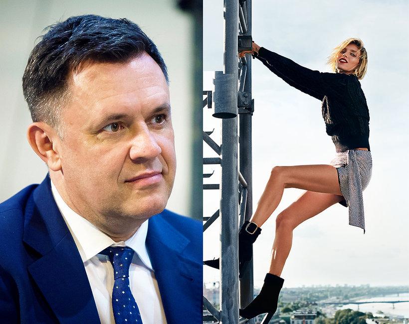 Anja Rubik, Jacek Łęski