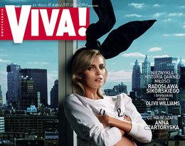 Anja Rubik na okładce Vivy!, marzec 2013