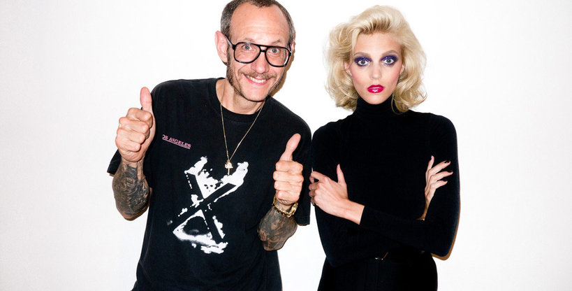 Anja Rubik, Terry Richardson