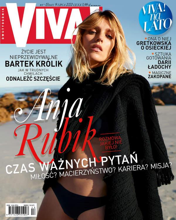 Anja Rubik, Viva! 13/2020, okładka
