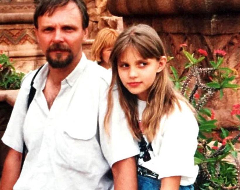 Anja Rubik z tatą