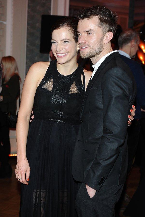 Anna Dereszowska i Daniel Duniak na premierze spektaklu Ożenek