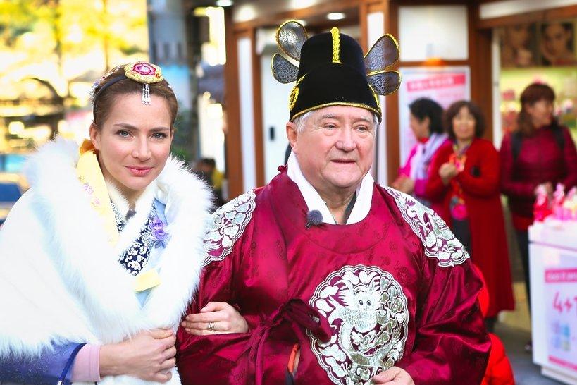 Anna Dereszowska z ojcem, Krzysztof Dereszowski