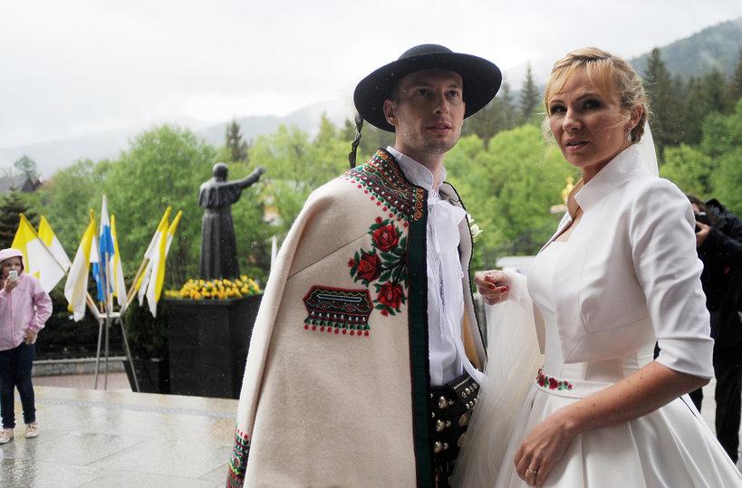 Anna Guzik, ślub