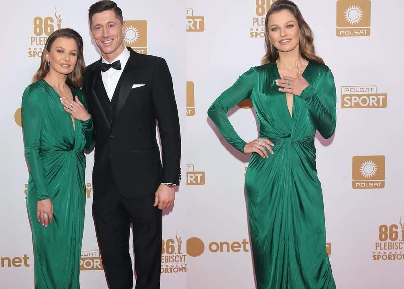 Anna i Robert Lewandowscy Gala Mistrzów Sportu 2020