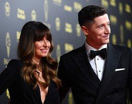Ależ okrągły brzuszek! Ania Lewandowska towarzyszyła mężowi podczas gali Złota Piłka 2019
