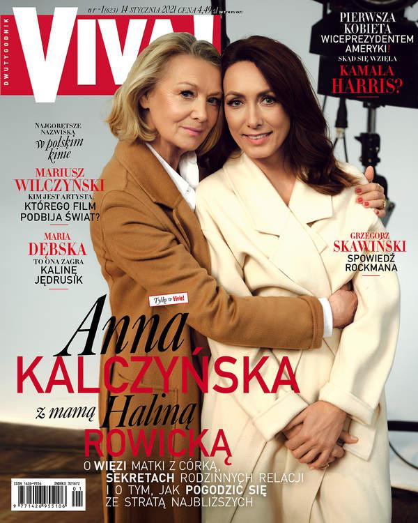 Anna Kalczyńska, Halina Rowicka, Viva! 1/2021 okładka