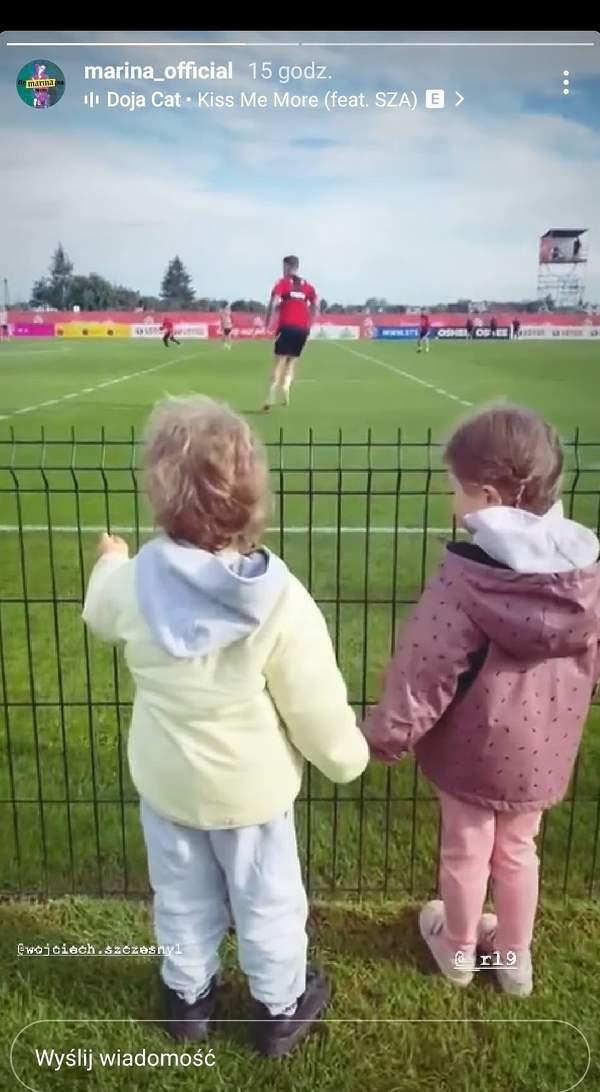 Anna Lewandowsa, Marina, Klara Lewandowska, Liam Szczęsny