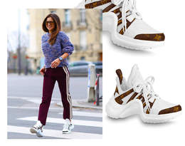 Anna Lewandowska w modnych sneakersach na wiosnę 2020!