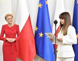 Anna Lewandowska i Agata Duda