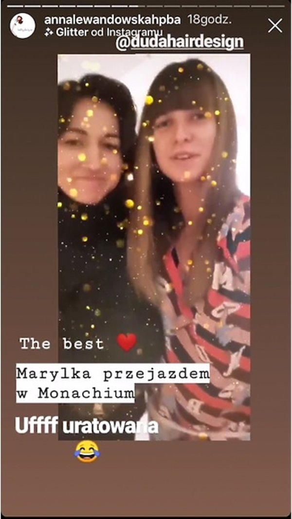Anna Lewandowska i Marylka Duda