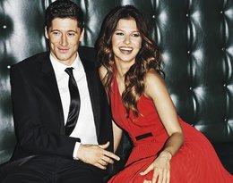 Anna Lewandowska i Robert Lewandowski w świątecznej sesji Vivy! 2014