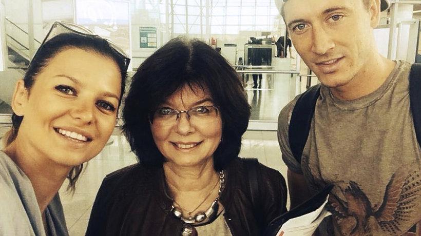 Anna Lewandowska, Maria Stachurska, Robert Lewandowski