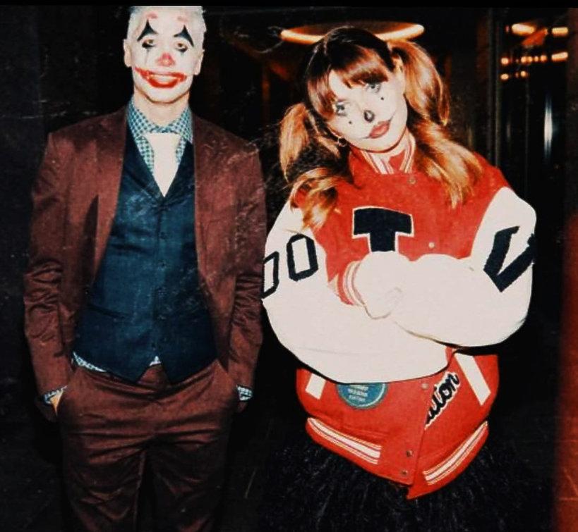 Anna Lewandowska, Robert Lewandowski, Halloween