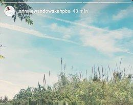 Anna Lewandowska, wakacje gwiazd