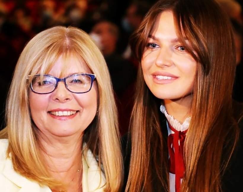 Anna Lewandowska z mamą, Marią Stachurską