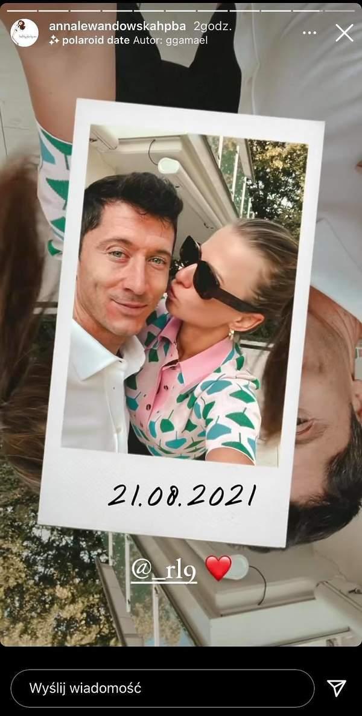 Anna Lewandowska złożyła życzenia urodzinowe Robertowi Lewandowskiemu