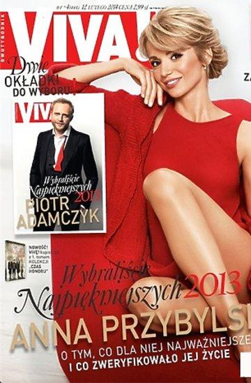 """Anna Przybylska na okładkach """"Vivy!"""""""