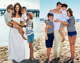 Dwie wyjątkowe sesje w tym samym miejscu... Rodzina Anny Przybylskiejodtworzyłazdjęcia sprzed lat