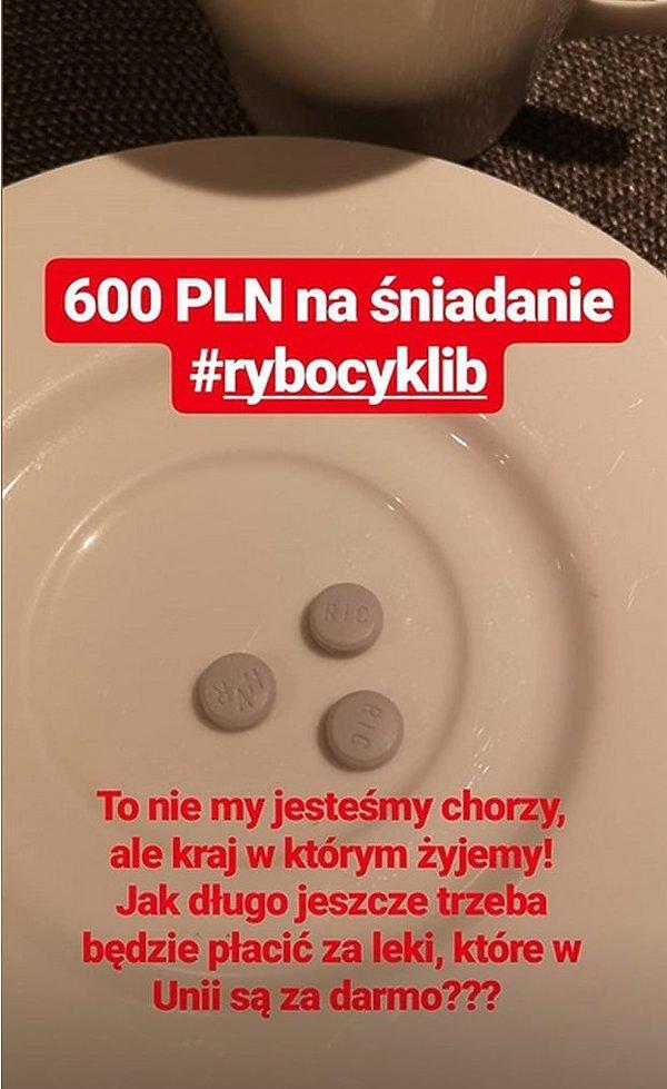 Anna Puślecka, leki