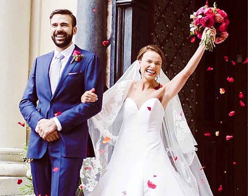 Anna Starmach, ślub