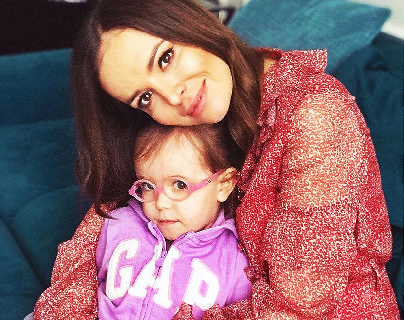 Anna Wendzikowska z córką