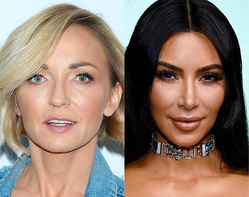 Anna Wyszkoni i Kim Kardashian