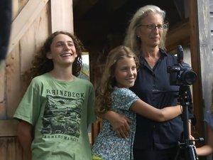 Annie Leibovitz z córkami