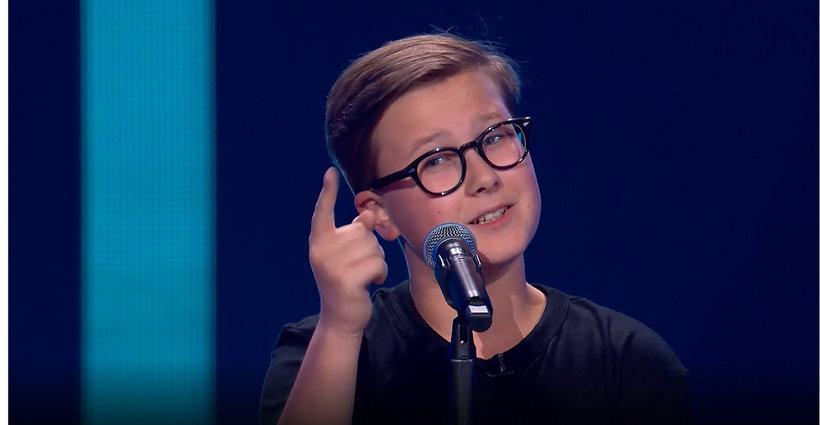 Antek Szydłowski, Voice Kids, cover Adele
