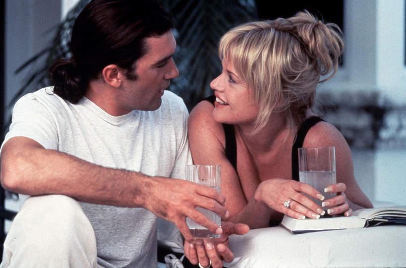 Antonio Banderas, Melanie Griffith, 1996
