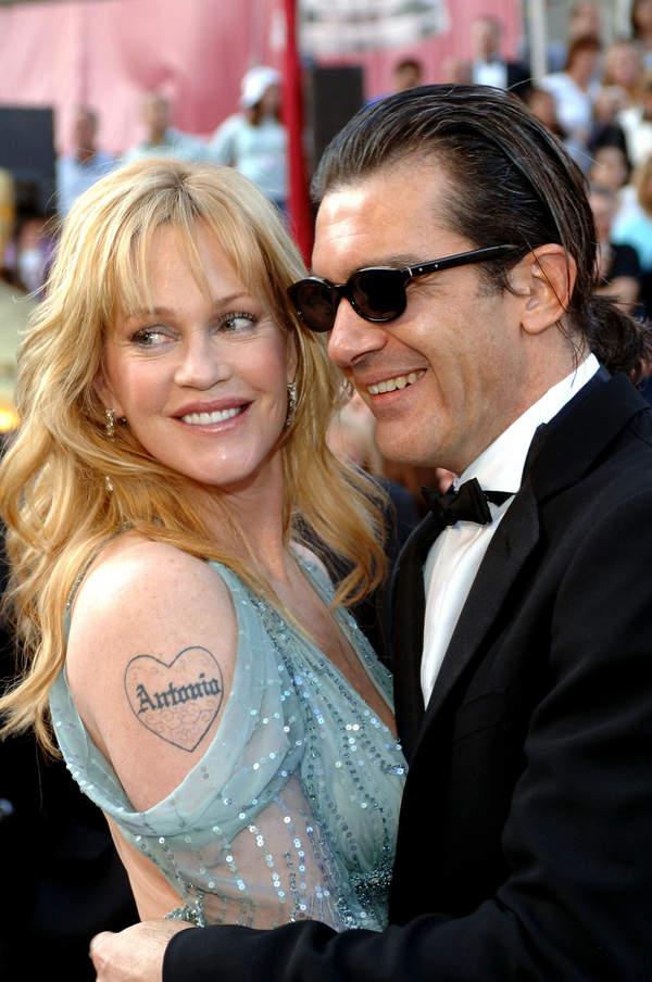 Antonio Banderas, Melanie Griffith 2005 rok