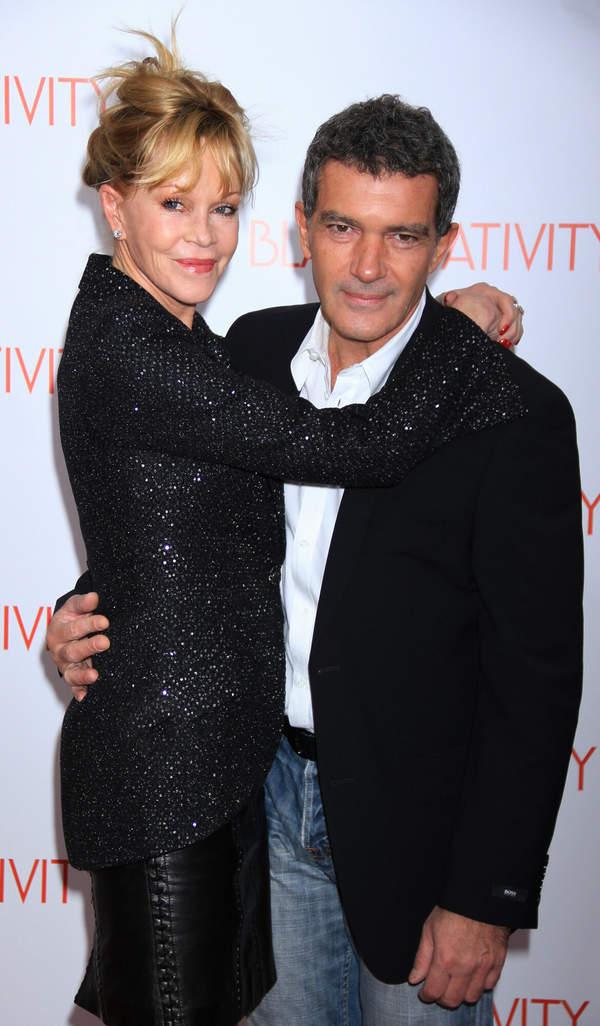 Antonio Banderas, Melanie Griffith 2013 rok