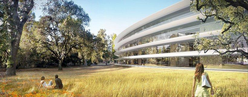 Apple Campus 2 w Cupertino