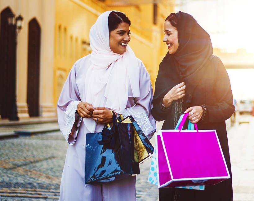 Arabskie księżniczki, zakupy