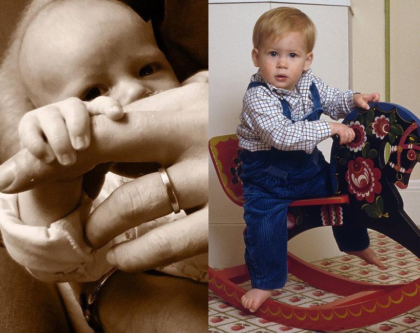Archie Harrison Mountbatten-Windsor, książęHarry w młodości, książęHarry jako dziecko