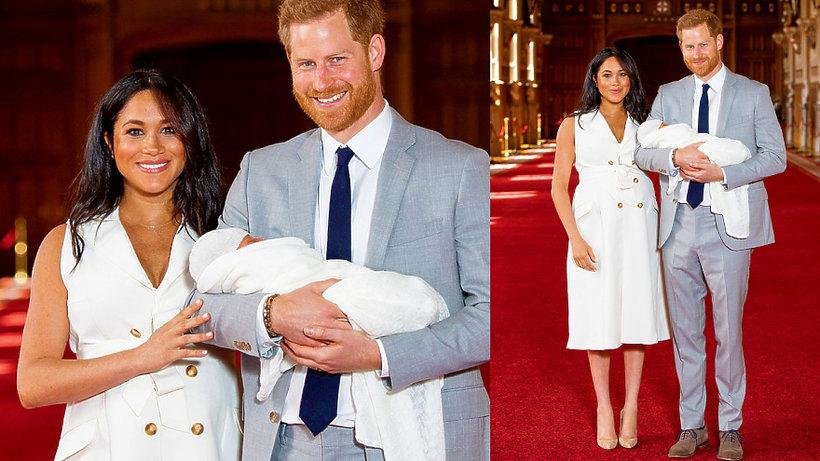 Archie Harrison Mountbatten-Windsor, księżna Meghan, dziecko Meghan i Harry'ego