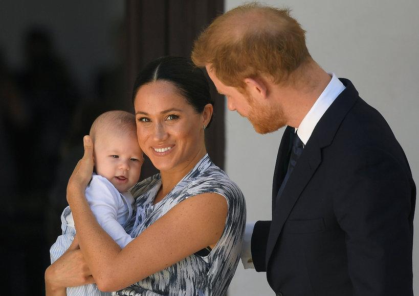 Archie Harrison Mountbatten-Windsor, royal tour 2019 Afryka, księżna Meghan, książęHarry