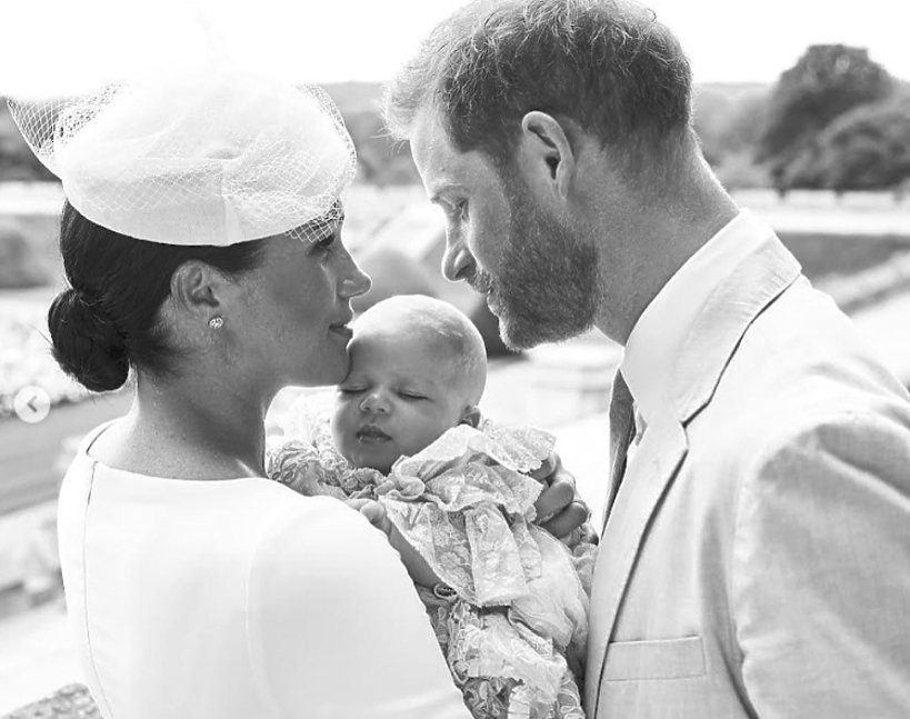 Archie, księżna Meghan, książę Harry