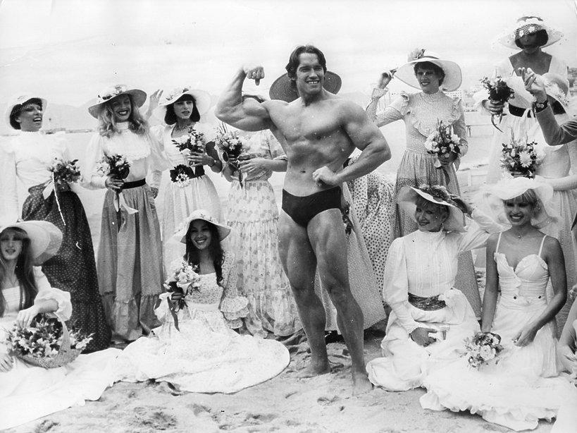 Arnold Schwarzenegger w młodości