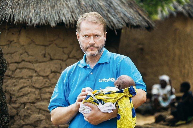 Artur Żmijewski w Afryce