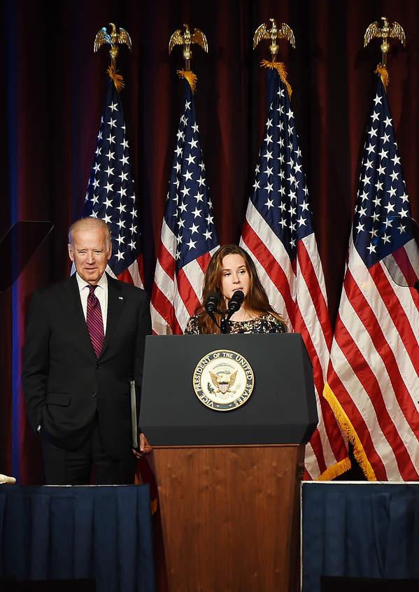 Ashley Biden, Joe Biden 2016