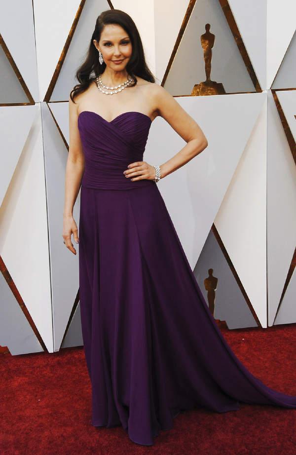 Ashley Judd na czerwonym dywanie