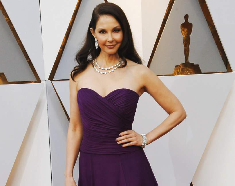 Ashley Judd na rozdaniu Oscarów