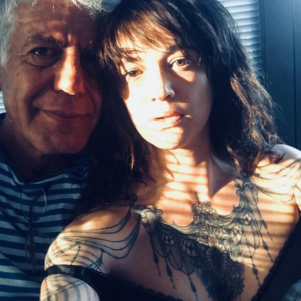Asia Argento, Anthony Bourdain