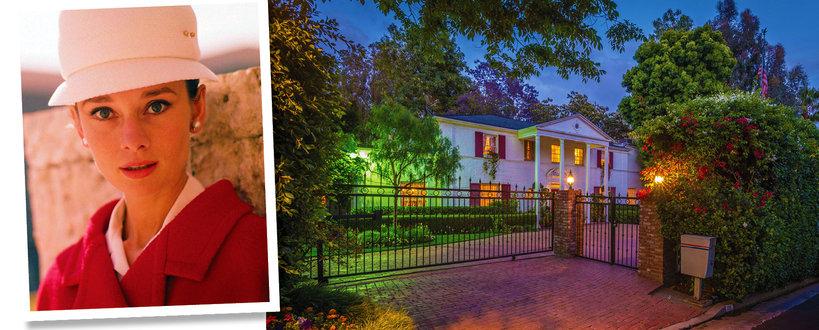 Audrey Hepburn dom w Los Angeles
