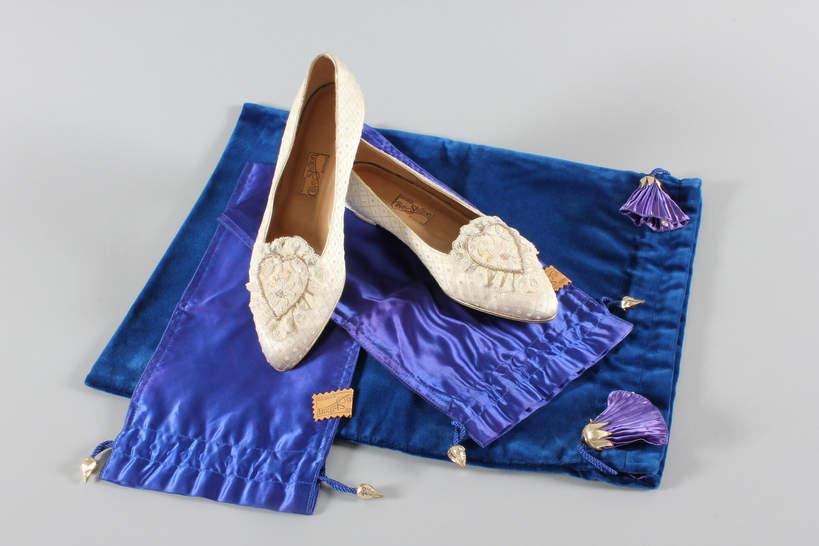 Aukcje księżnej Diany buty