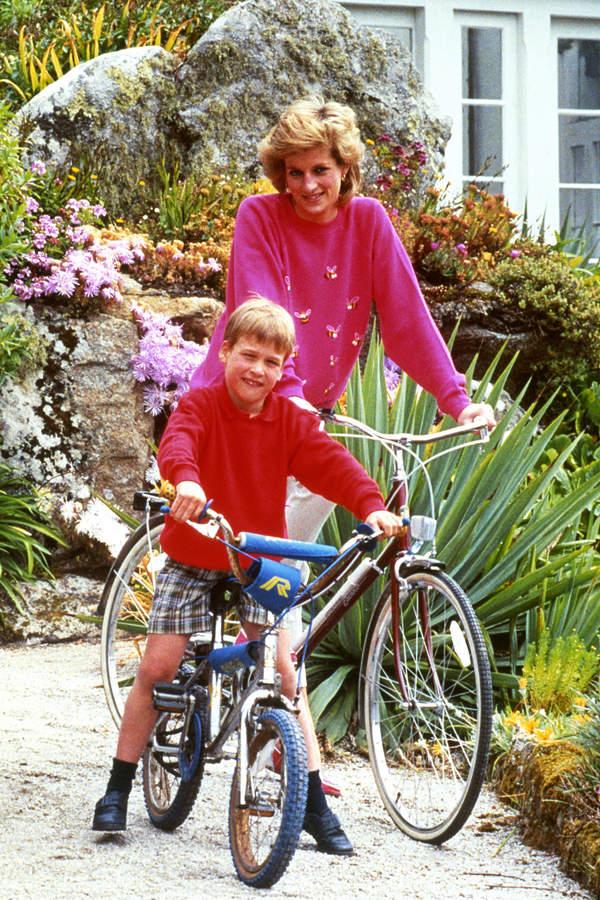 Aukcje księżnej Diany rower