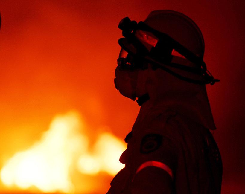 Australia, strażak