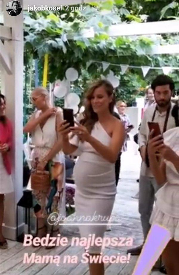 Baby shower Joanna Krupa